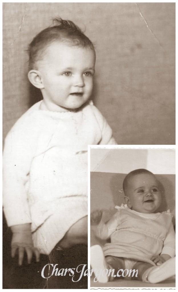 Baby photos of Arlene & I