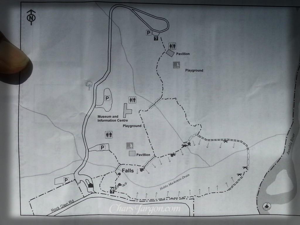 Rock Glen Map